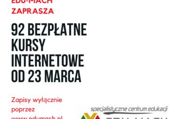 92 bezpłatne kursy internetowe już od 23 marca!