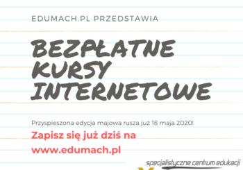 Formularz szybkiego zapisu oraz sylabusy – edycja MAJOWA 2020